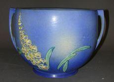 Roseville Jardiniere Foxglove Pattern H 10 Inches 130 2011