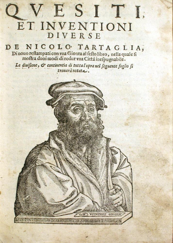 Niccolo Fontana Tartaglia Isaac Newton Leonardo Tales De Mileto