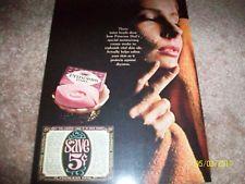 PRINCESS DIAL SOAP AD 1960'S VINTAGE RARE WOMAN