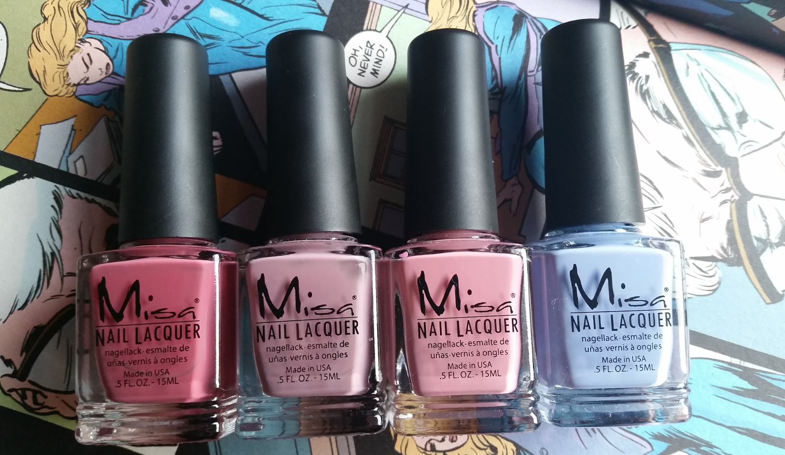 Misa Nail Lacquer Review (Tiny Budget Beauty Reviews) | Beauty review