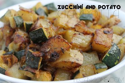 Vegan Zucchini and Potato Ciambotta