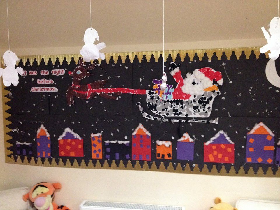 Christmas Display Ideas For Nursery.T Was The Night Before Christmas Toddler S Christmas