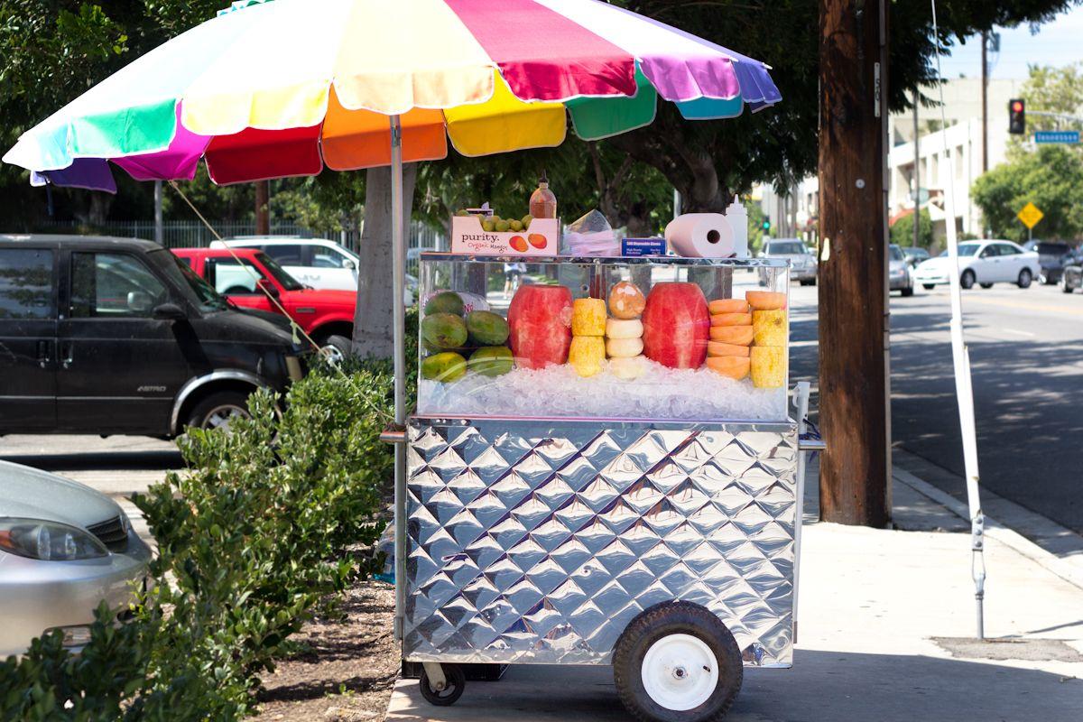 The Fruit Carts Of Los Angeles La Weekly In 2019 Fruit