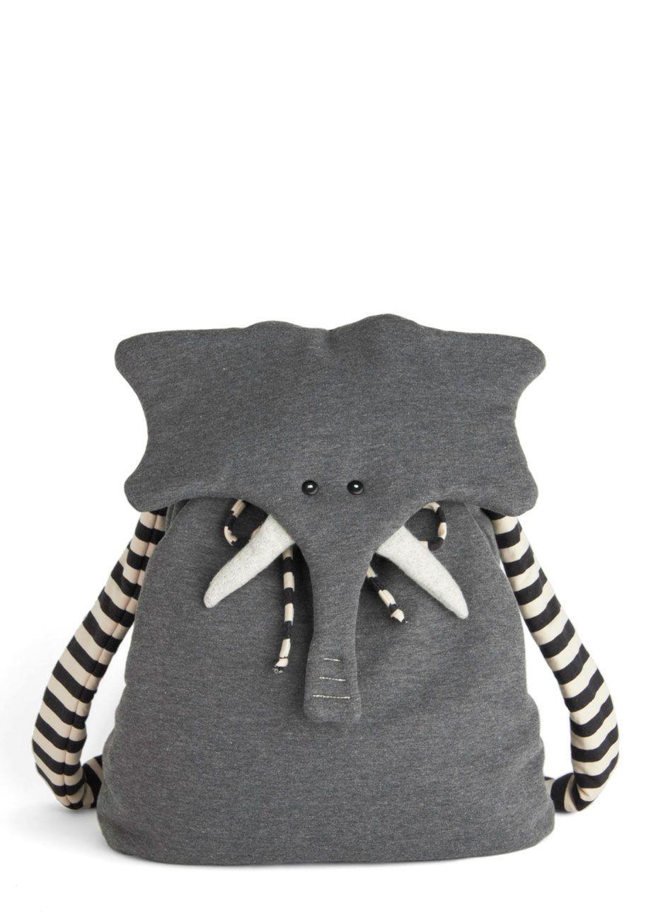 Mochila Infantil Elefante | Elo7