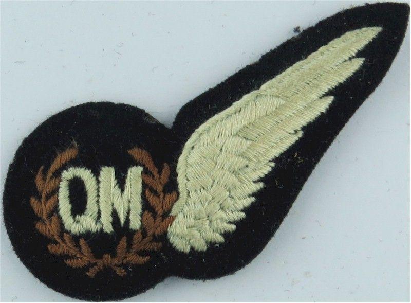 Paratrooper's cloth jump wings  blue Britain//British Royal Air Force R.A.F.