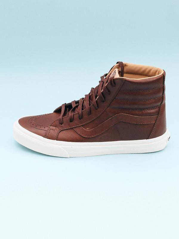 b2502325d45 Vans Sk8Hi Reissue Leather High Top Sneakers vans in 2019
