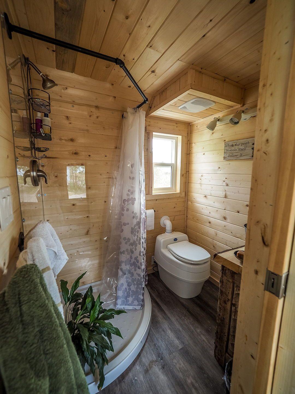 Raven By Blackbird Tiny Homes Tiny Living Tiny House Bathroom Tiny House Interior Design Tiny House Movement