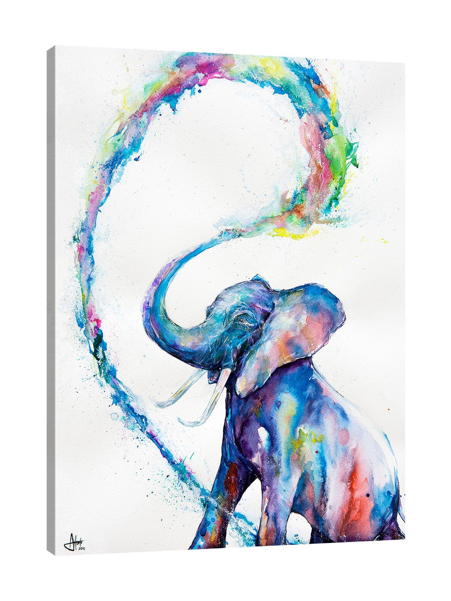 Veris Elephant Art Art Artwork