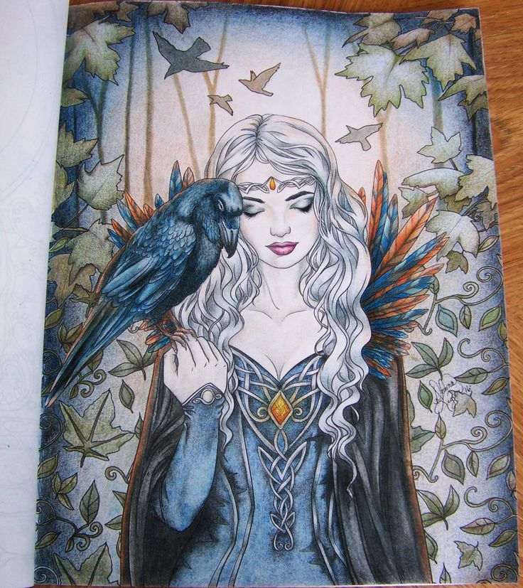 Image Result For Selina Fenech Color Color Book Moon Witch Page