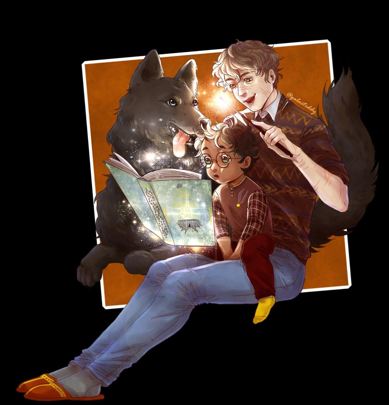 Pin Von Tamara Auf Harry Potter Harry Potter Anime Fanart Harry Potter Remus Und Sirius