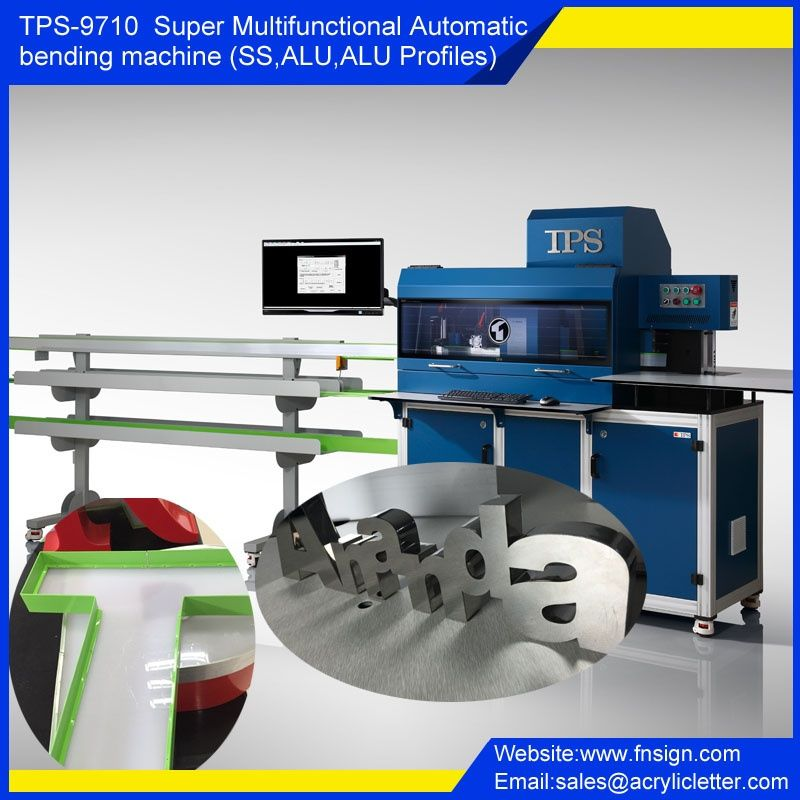 Tps S9710 Super Multifunctional Automatic Bending Machine Grommet Machine Signage Multifunctional
