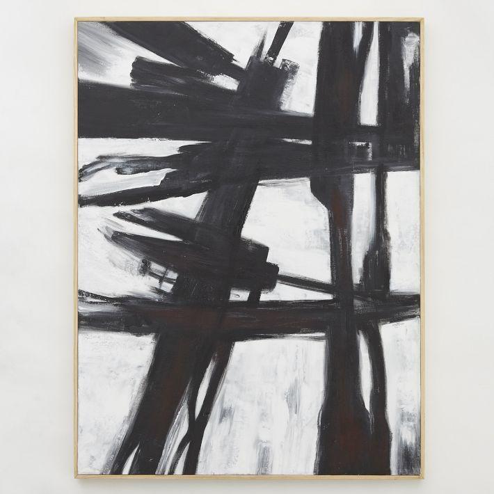 Abstract Black + White Wall Art | Black & White Art | Pinterest ...