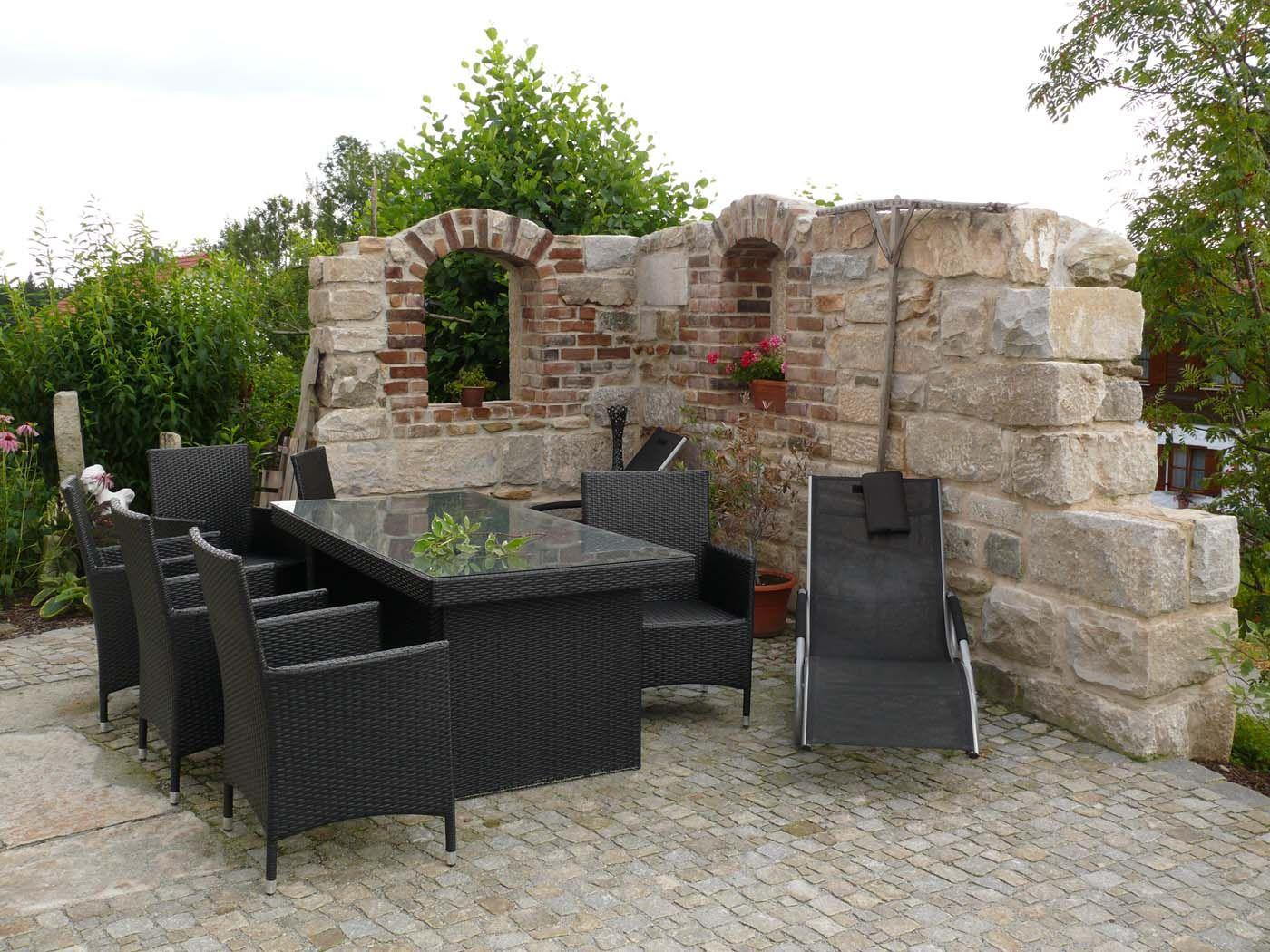 mauer trockenmauer stein gartengestaltung gartenbau reischl bayerischer wald garten. Black Bedroom Furniture Sets. Home Design Ideas