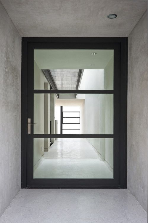 Analog Dialog Contemporary Front Doors Entry Doors With Glass Exterior Doors With Glass