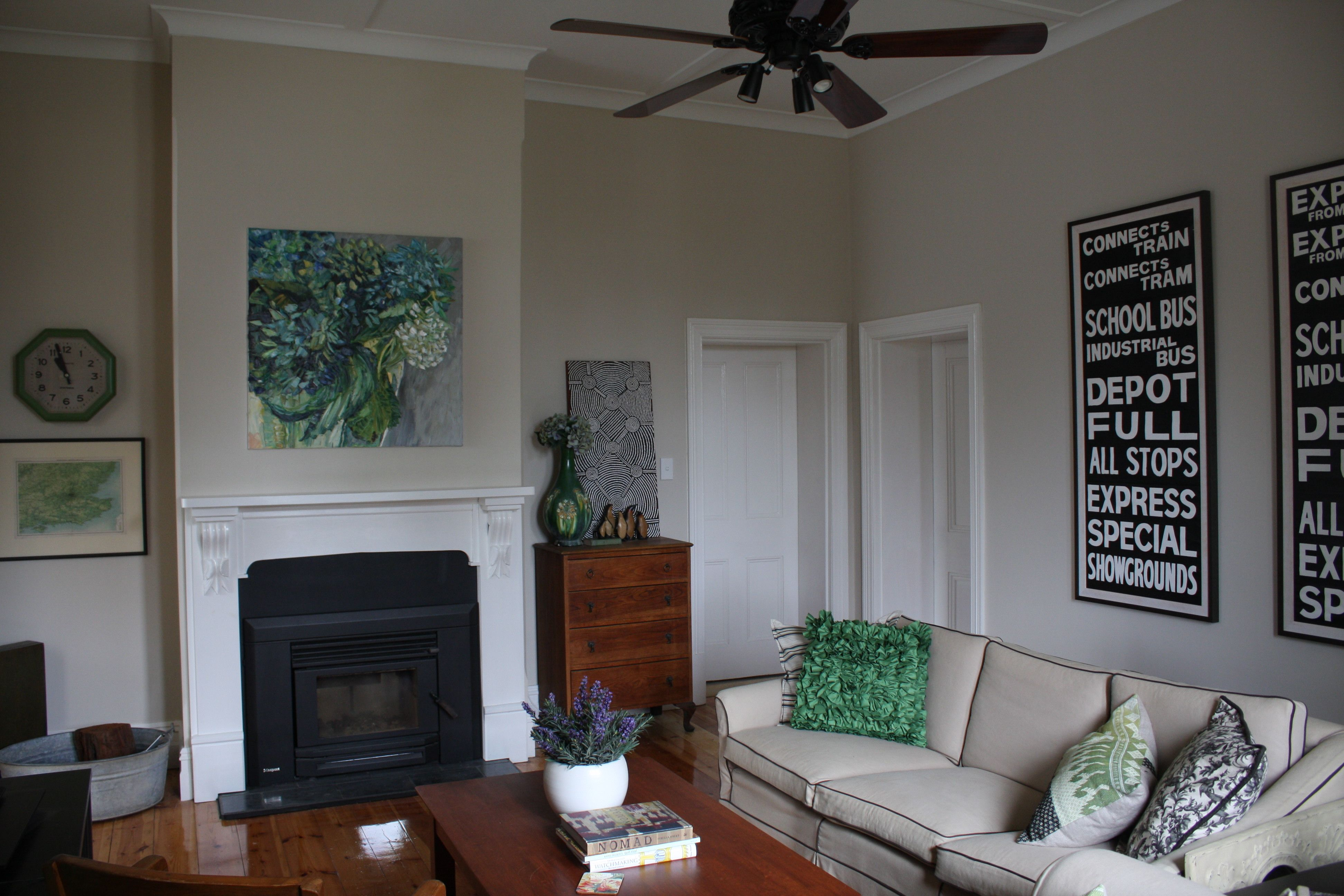 Our Lounge Room Walls In Porter S