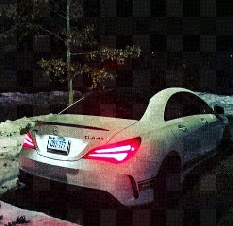 Dark night - Mercedes Benz AMG CLA 45