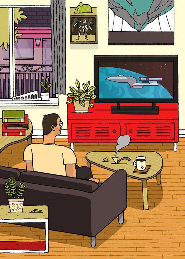 Toronto-based Josh Holinaty's neat, perceptive illustrations.