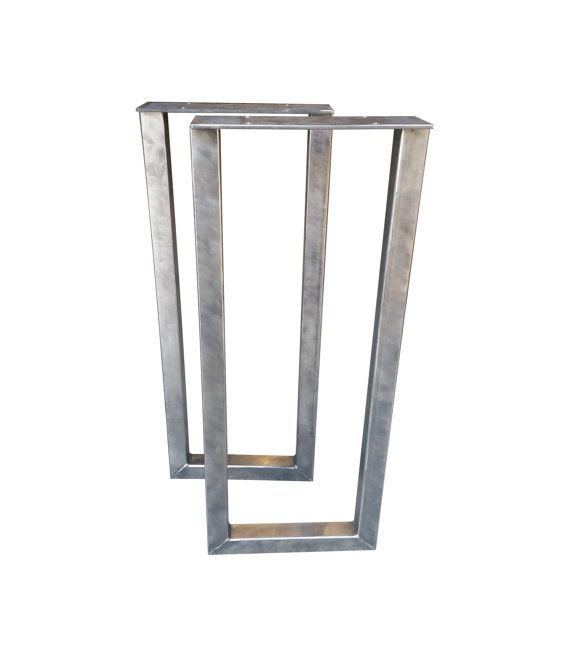 Delicieux Metal Rectangle Table Legs   2x2 Square Tubing, Console Table, Steel Table,  Butcher