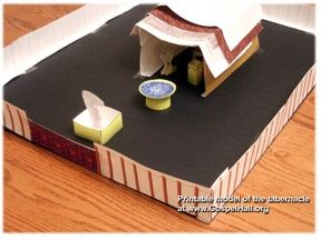 tabernacle of moses craft paper tabernacle to build