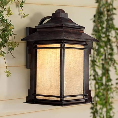 Hickory Point 19 High Outdoor Led Light Y7003 Lamps Plus