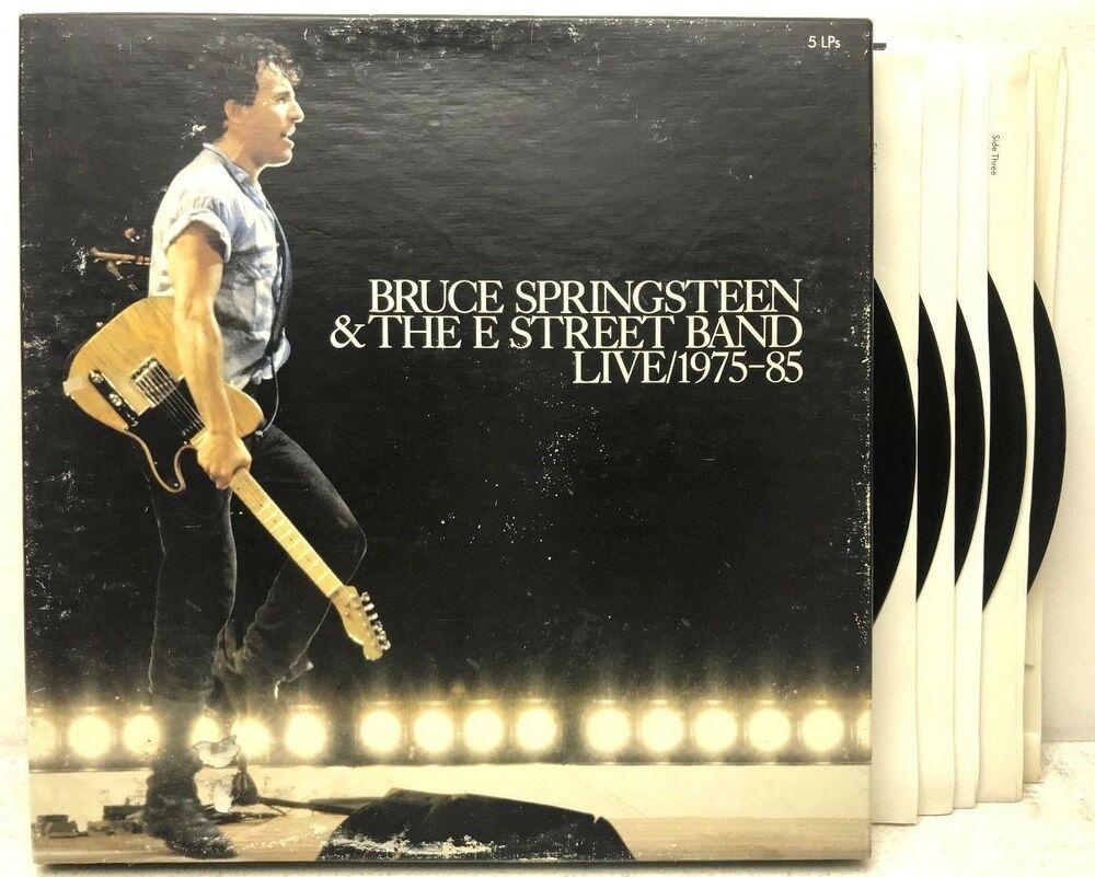 Bruce Springsteen The E Street Band Live 1975 85 C5x 40558 Vinyl Record Album Capitolcollectibles Com Vinyl Records Bruce Springsteen Record Album