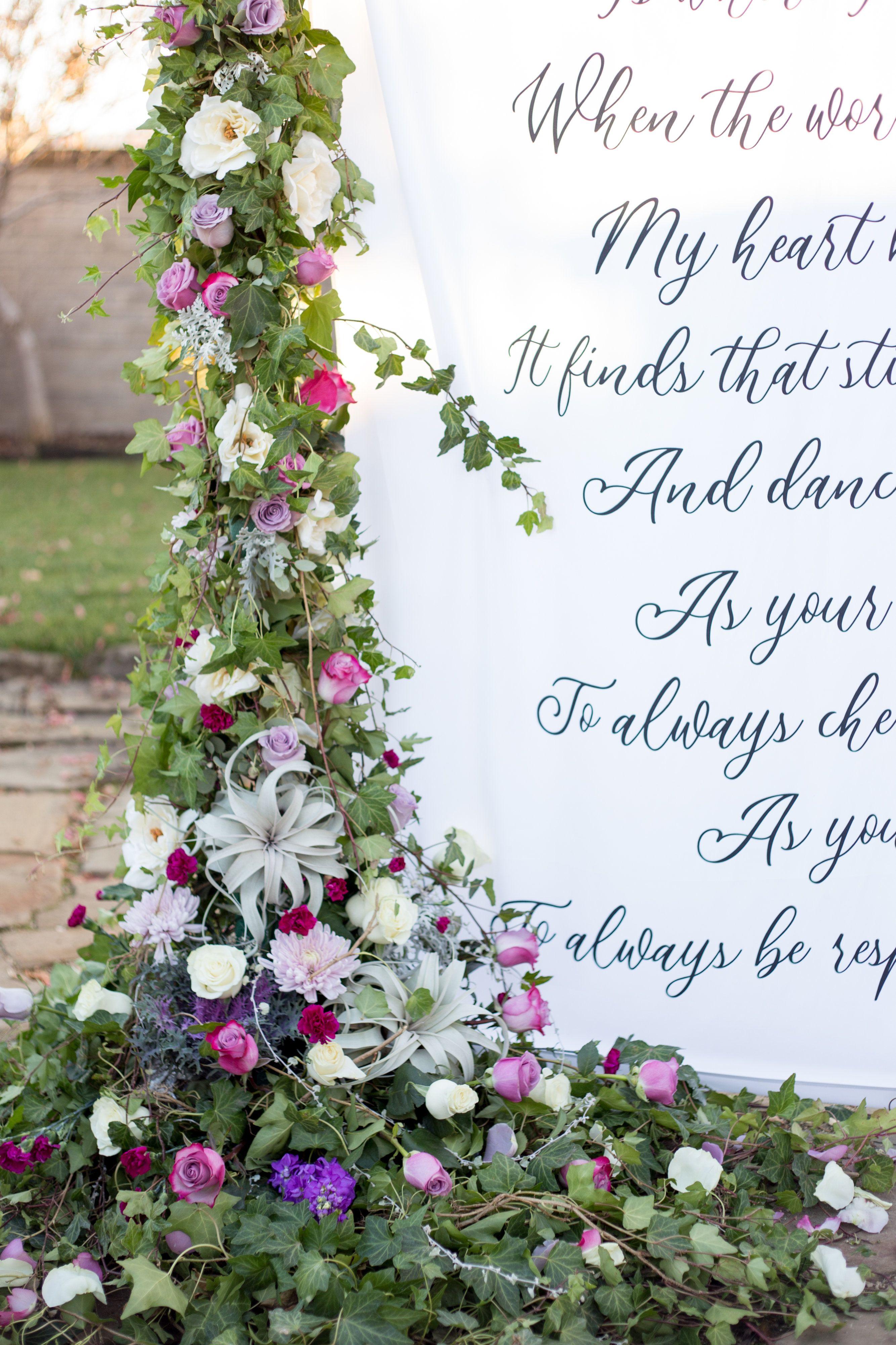 Outdoor wedding ceremony backdrop ideas #dreamwedding # ...