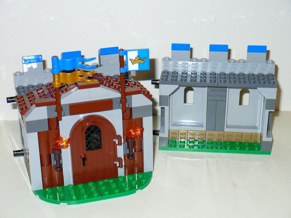 NEW Custom Lego King/'s Castle kingdom module Troop Barracks house infantry 70404