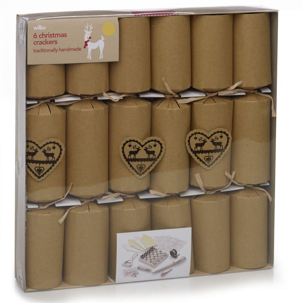 Brown paper christmas crackers by wilkos y u l e pinterest brown paper christmas crackers by wilkos solutioingenieria Gallery