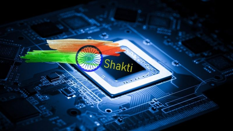 'Shakti'India's First Processor Ready For App Development