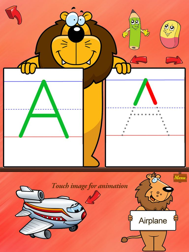 ABC Tracer with words and phonics free HD on the App