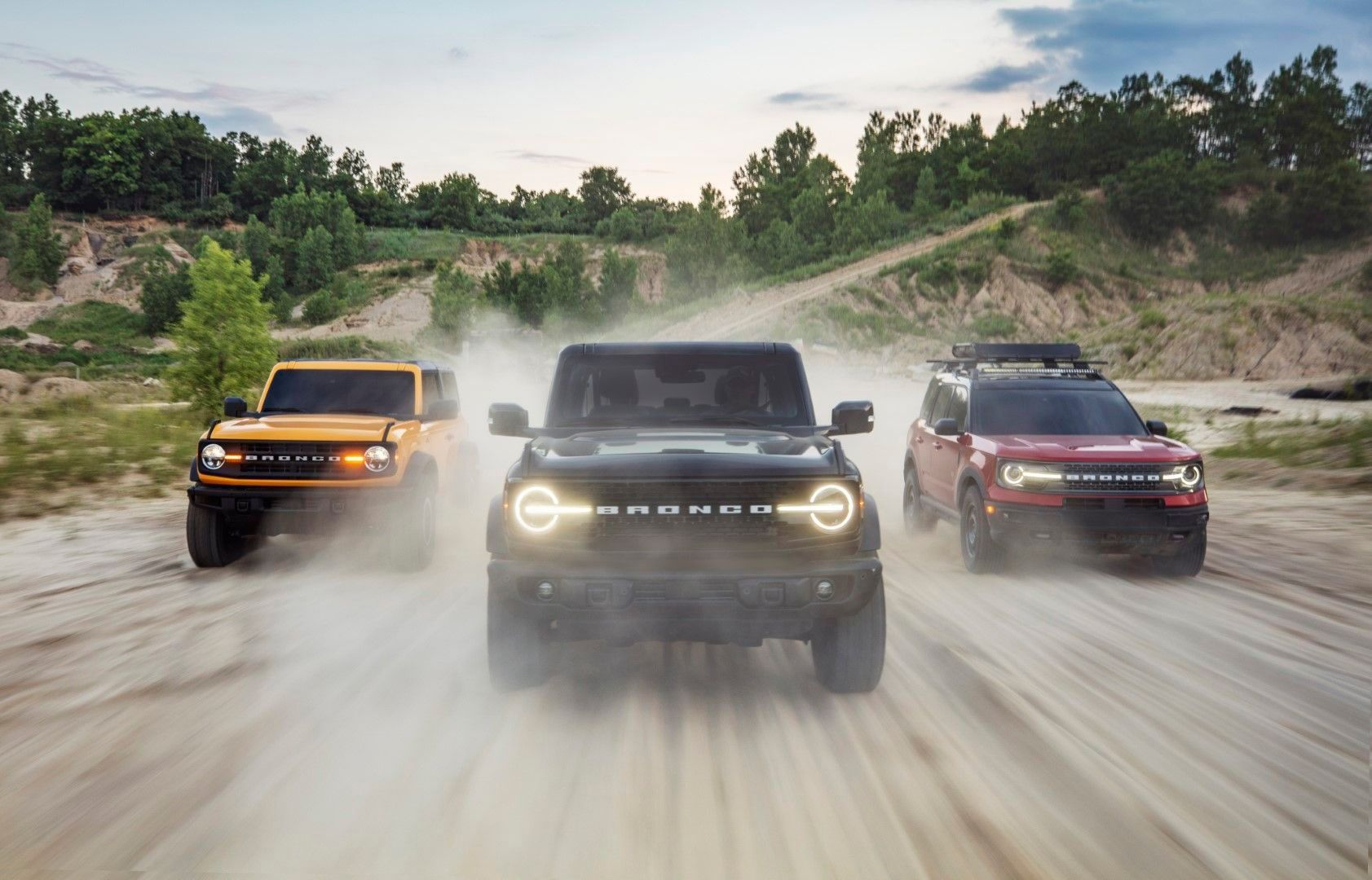 2021 Ford Bronco Family in 2020 Ford bronco, Bronco