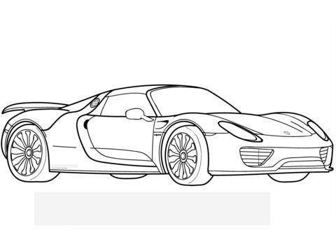 Ausmalbilder Autos Porsche Ausmalbilder Malvorlagen Malvorlage Auto