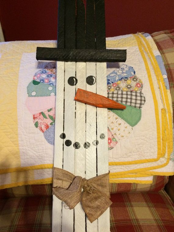 Tobacco stick snowman by tonyasmemorylane on etsy diy for Sticky boards for crafts