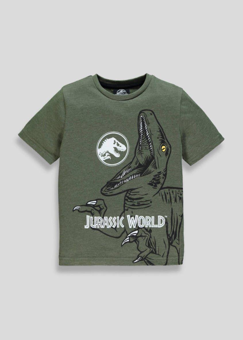 01dd08e09 Unisex Jurassic Park T-Shirt (5-10yrs) – Green