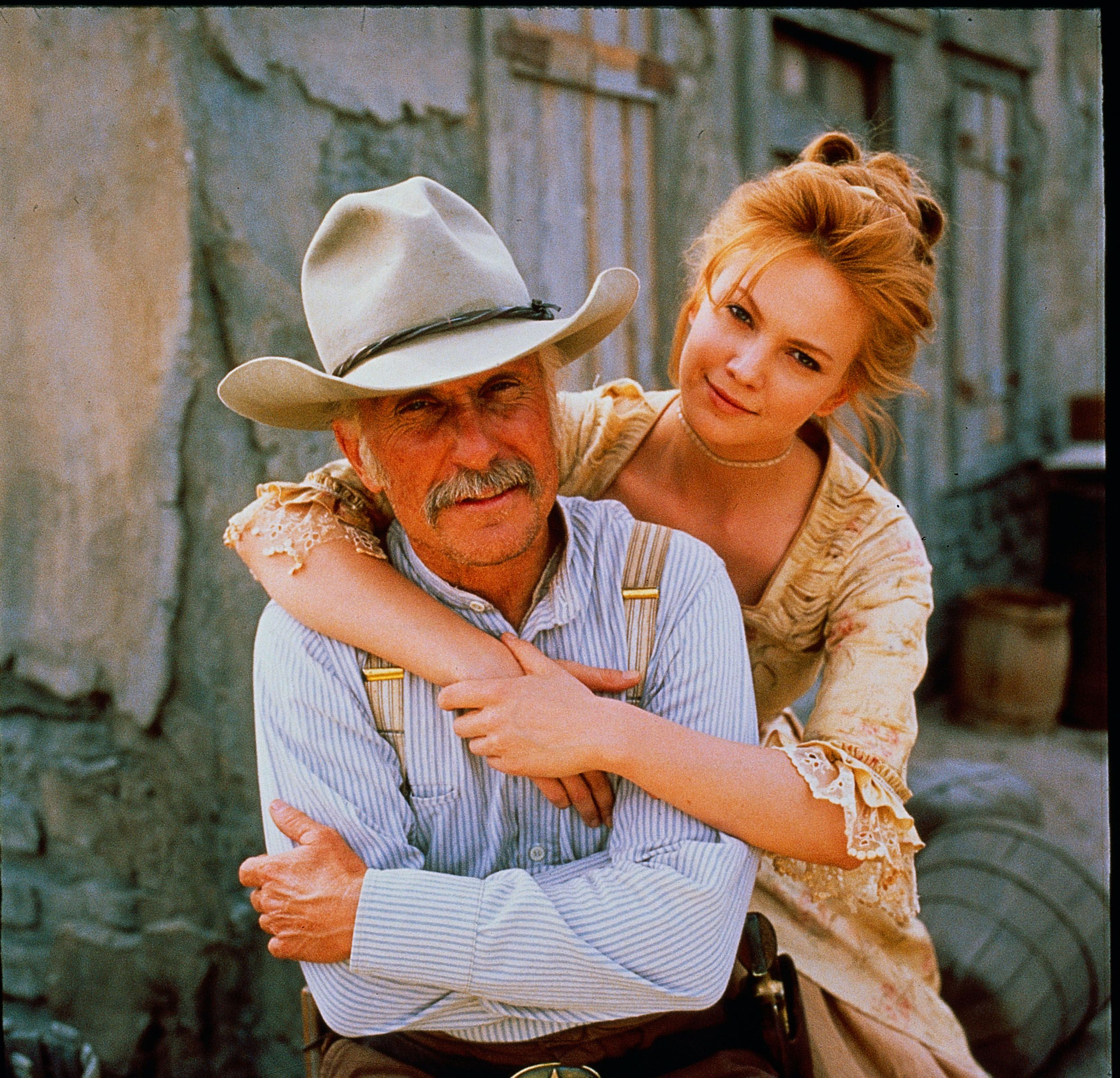 Robert Duvall and Diane Lane star in LONESOME DOVE, streaming now on Hulu.