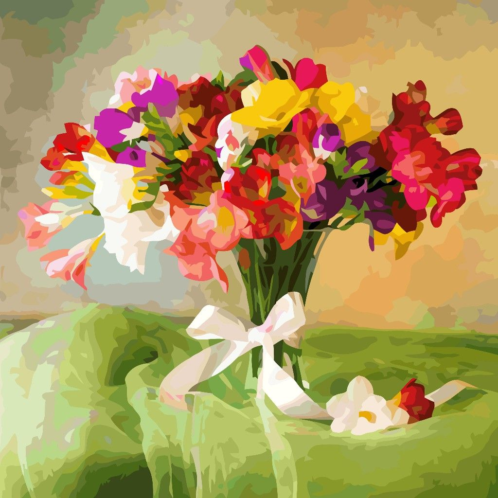 Pin by Susanna on картинки in 2020 | Oil painting flowers ...