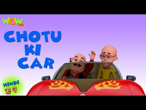 choti ki car motu patlu in hindi 3d animation cartoon choti