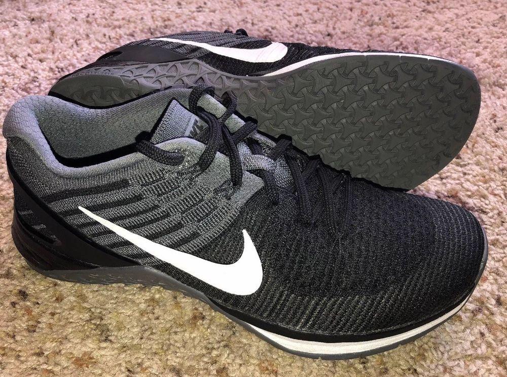 5d389713048b Nike Metcon Flyknit DSX Training Running Shoes Womens Size 9.5 Black Gray  White  fashion  clothing  shoes  accessories  womensshoes  athleticshoes  (ebay ...