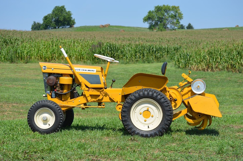 Allis Chalmers B 1 Garden Tractor And Tiller Garden Tractor