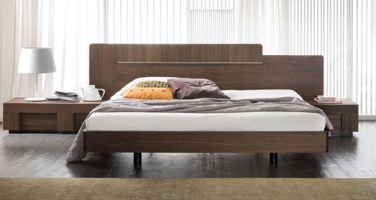 King Japanese Style Platform Bed Headboard 2 Nightstands Espresso Modern Platform Bed Japanese Style Bed Modern Japanese Style
