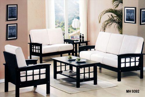 Black Wooden Sofa Set Design Ideas Wooden Sofa Set Designs Sofa