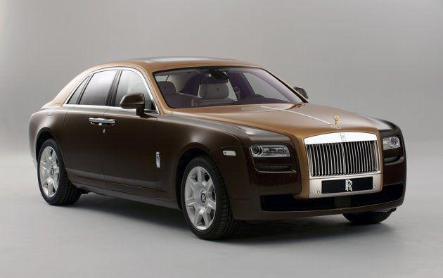 Rolls Royce two-tone Ghost. #rollsroyce