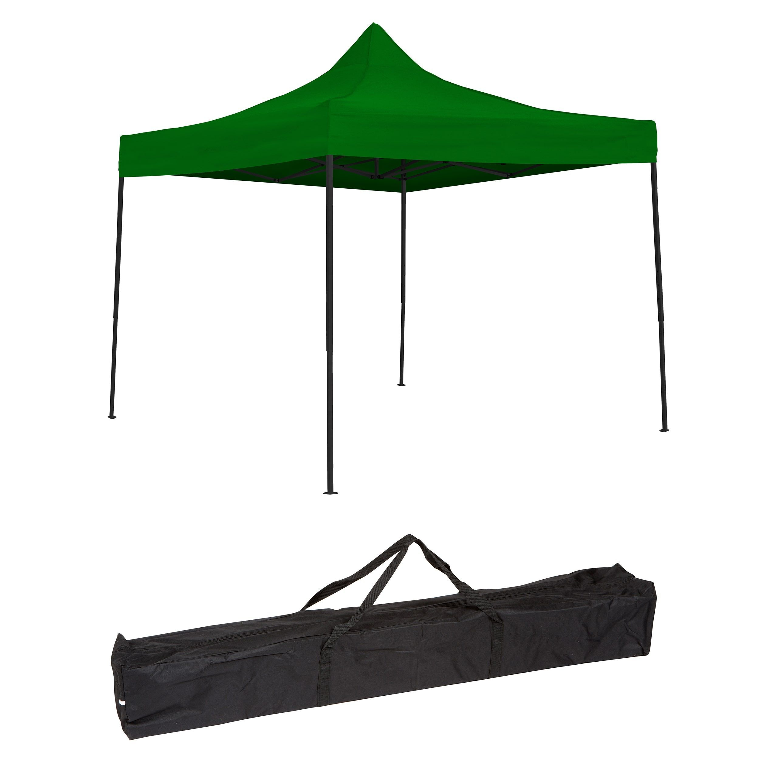 Trademark Innovations 10 Foot Lightweight And Portable Canopy Tent Set 10ftcan Grn Portable Canopy Canopy Tent Canopy Cover
