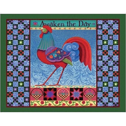 "This exclusive image by Jim Shore features a daybreak mascot and the reminder to ""Awaken the Day"". This 350-piece format features larger, easier to handle pieces. This jigsaw puzzle measures 18"" X 23.5"" when complete. $12.99 http://www.calendars.com/Assorted-Folk-Art/Rise-and-Shine-350-Piece-Puzzle/prod200900009044/?categoryId=cat00033=cat00033#"