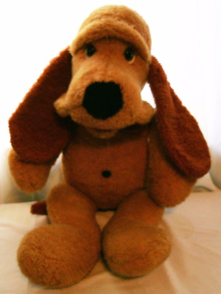 Vintage Animal Fair Plush Stuffed Doogan 1976 Puppy Dog Approx 24