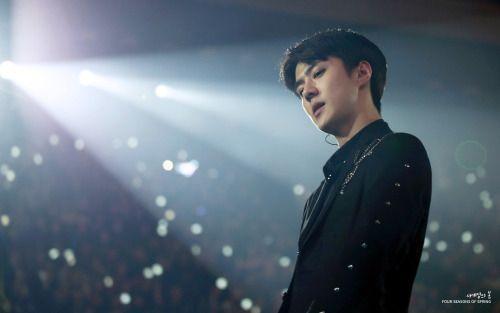 Sehun - 170121 Green Nature 2017 EXO Fan Festival Credit: Four Seasons of Spring. (그린네이처 2017 엑소 팬 페스티벌)