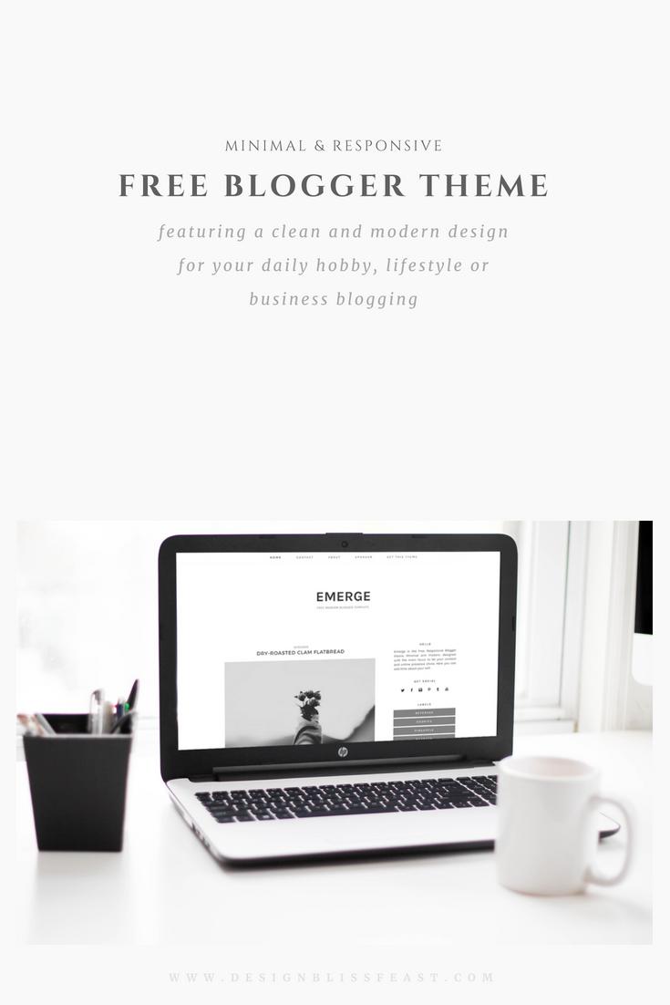 Free Responsive Blogger Theme   Free blogger templates, Blog post ...