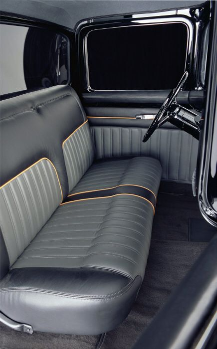 Chip Foose 1956 Ford F100 Interior Custom Car Interior Car Interior Upholstery Truck Interior
