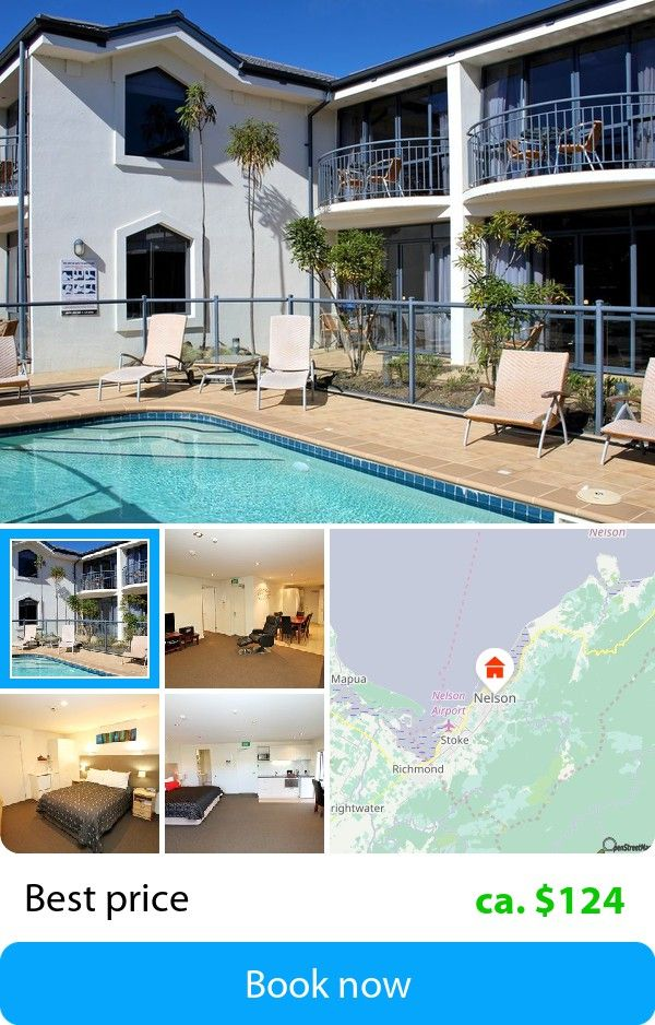 De Lorenzos Studio Apartments (Nelson, New Zealand) – Book this hotel at the cheapest price on sefibo.