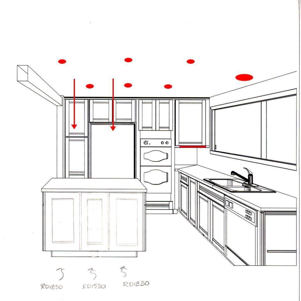On A Kitchen